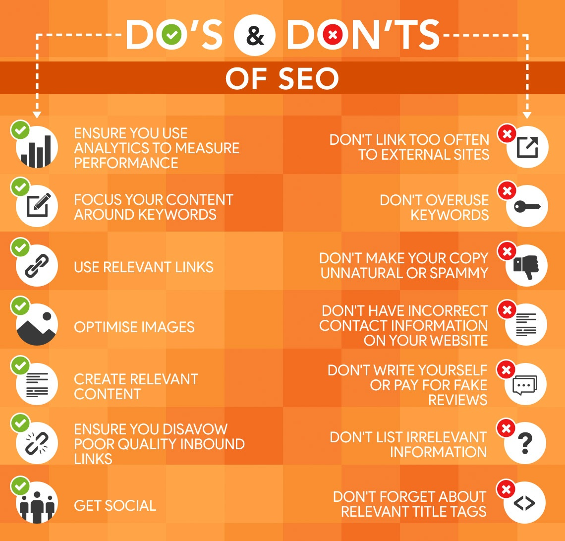SEO Junkies - Do's and Don'ts of SEO