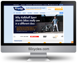 50 Cycles SEO results