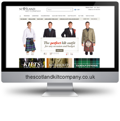 The Scotland Kilt Company SEO results