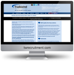 Tradewind Recruitment SEO results