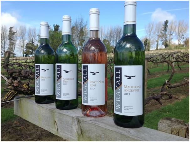 Wraxall Wine Bottle Labels