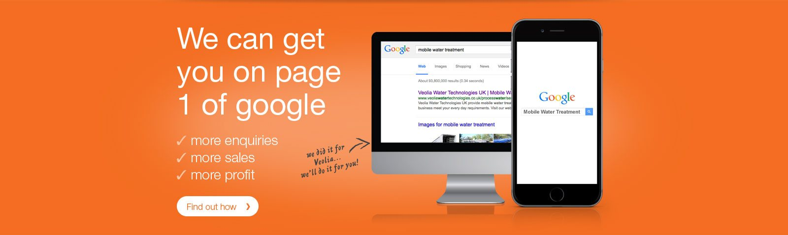 Get page one results with expert SEO Consultancy